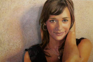 Rashida Jones Portrait by CuriousGeorge43545