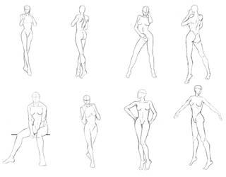 Woman Sketch Study