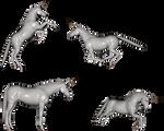 Mythology set one - Unicorns