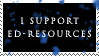 ED-resources stamp by ED-resources