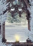 Winter Window background 2