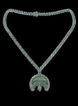 Moon Key Necklace