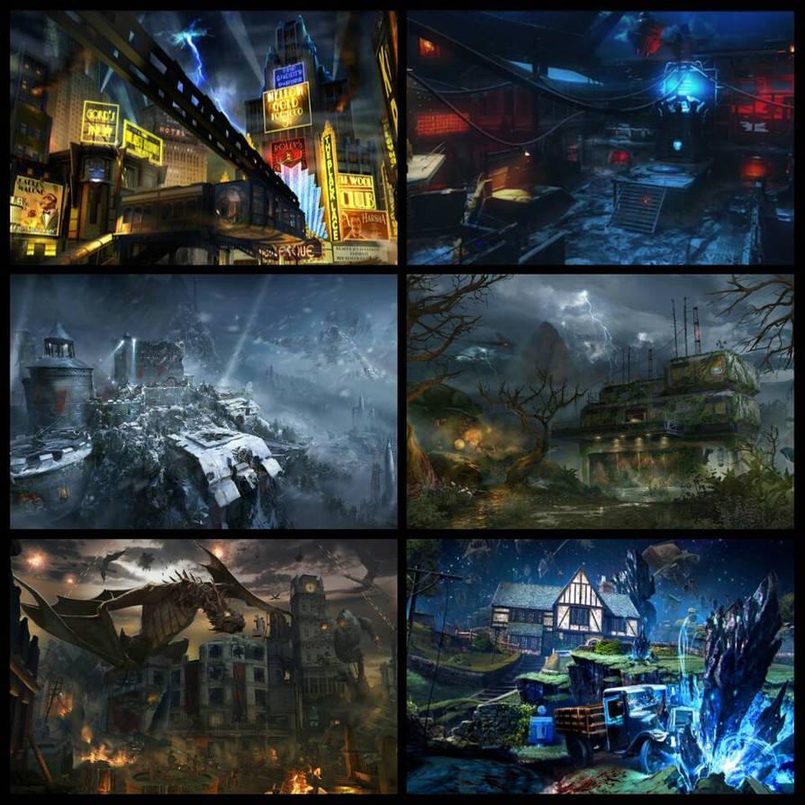 Black Ops 3 Zombie Maps by gears123fights on DeviantArt