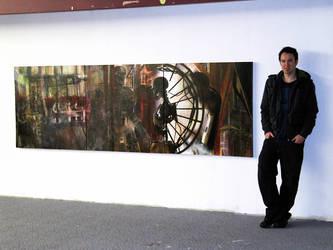 The End Begins Mural teaser