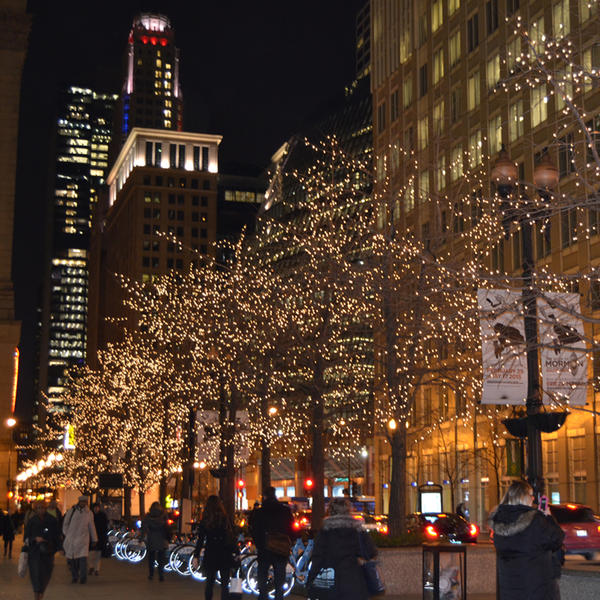 Christmas Lights Chicago Loop by Calisaroa on DeviantArt