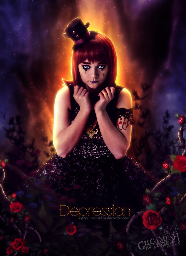 Depression by Gilgamesh-Art