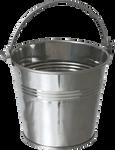Iron Bucket PNG Stock #1