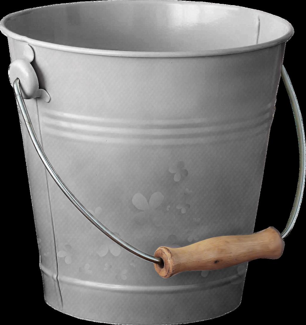 Iron Bucket PNG Stock #2