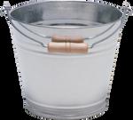 Iron Bucket PNG Stock #3