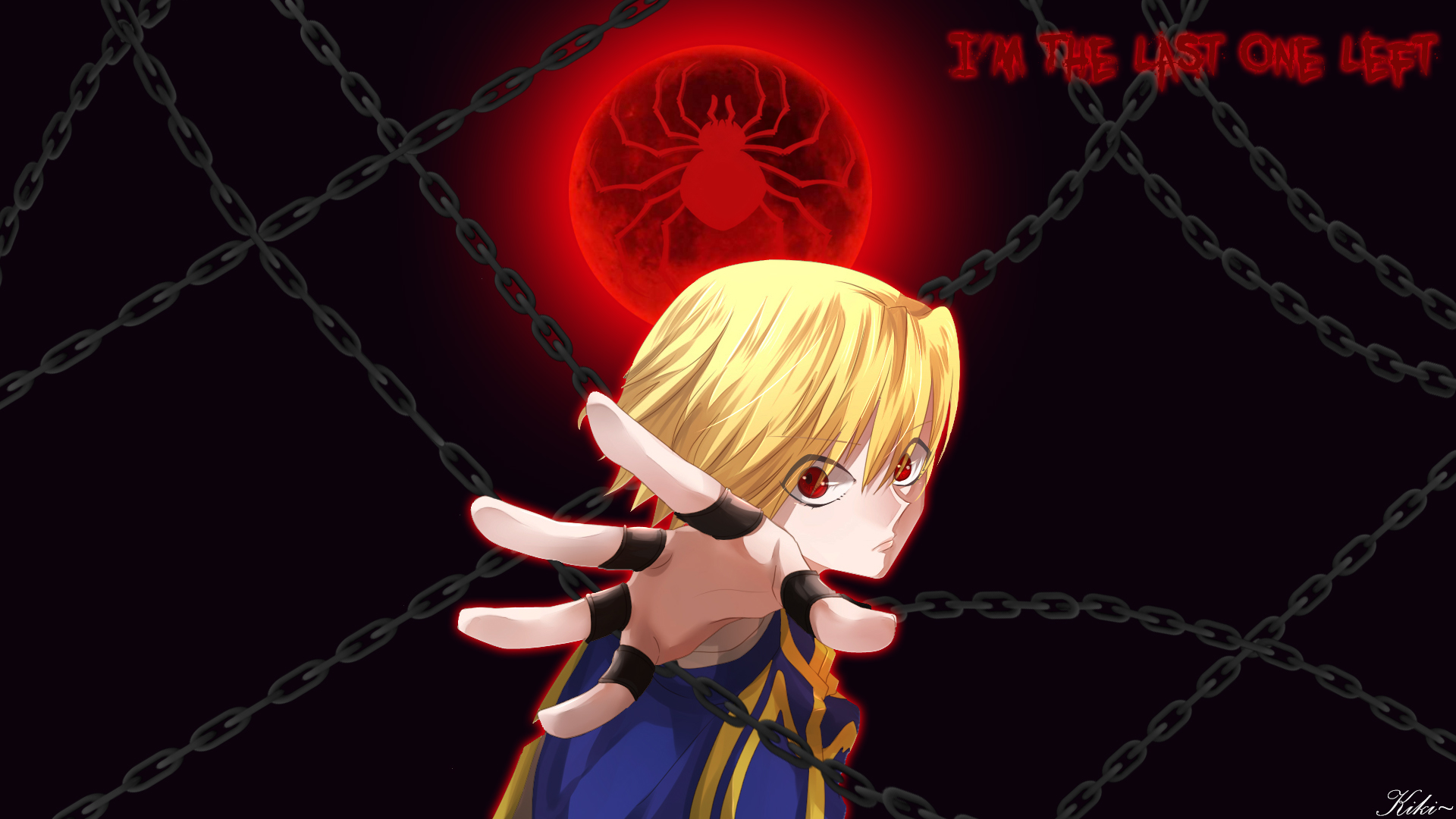 Hunter X Hunter Kurapika Wallpaper 1920x1080 By Mrkcgaming On