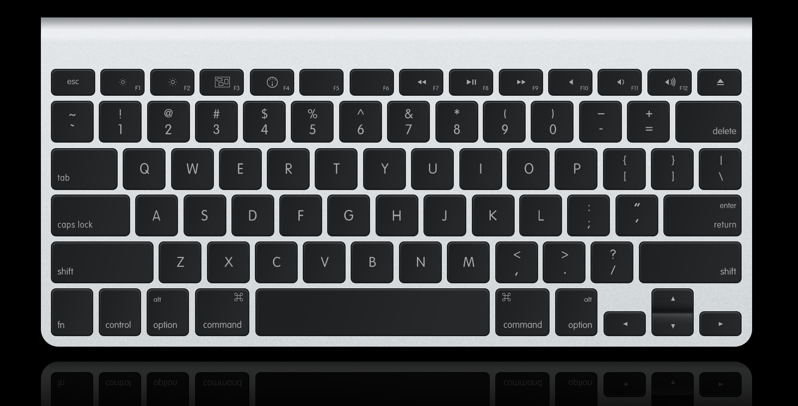 New Apple Keyboard by muckSponge