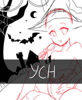 CLOSED TYSM | Halloween YCH auction by Himetochan