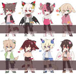 [CLOSED_SETPRICE] Flaurist Batch 17 by Himetochan