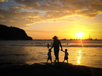 Sunset in San Juan by darklady82