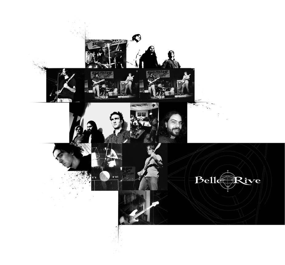 Belle rive band photo collage by phenoxa on deviantart for Bell rive