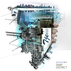 MP3 Cover Art: Phenoxa - Snap District (drum/bass)