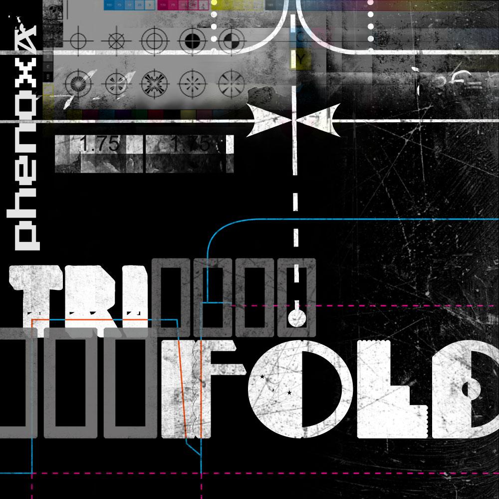MP3 Cover Art : Phenoxa - Tri-Fold (Glitch) by phenoxa