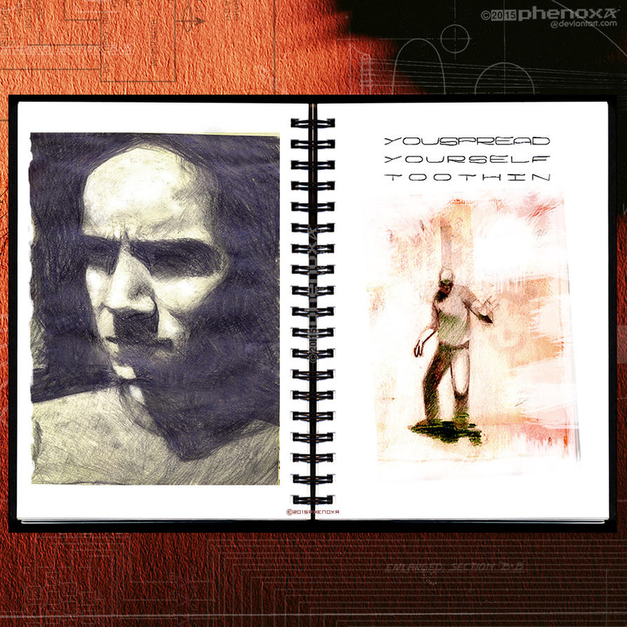 Sketch Works: Book 1 24 'internal' by phenoxa