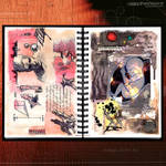 Sketch Works: Book 1 23 'starchild' by phenoxa