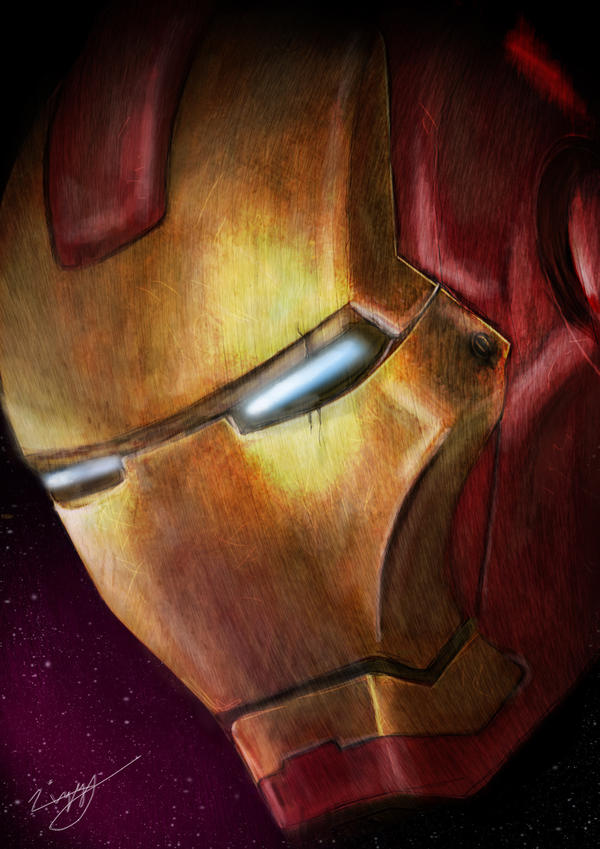 Iron Man by Z199Y360