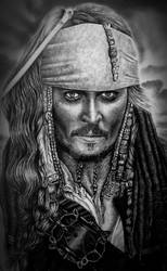 Jack Sparrow1 by HenryHolliday
