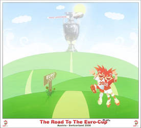 : The Road To The Euro-Cup : by Grafix-Des