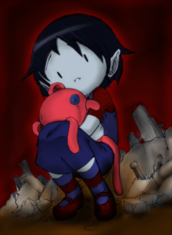 Bleedman_stye_Little Marceline by cammandude
