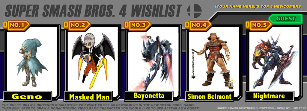 super_smash_bros__4_wishlist_meme_by_cammandude d69n2kn super smash bros 4 wishlist meme by cammandude on deviantart