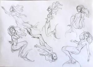 Mermaid Sketc3