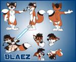 Blaez Model Sheet
