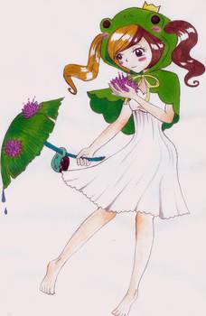 Art Trade: Princess Felicity Frog