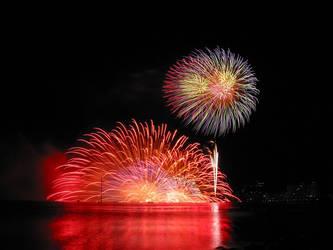 fireworks by afishchi