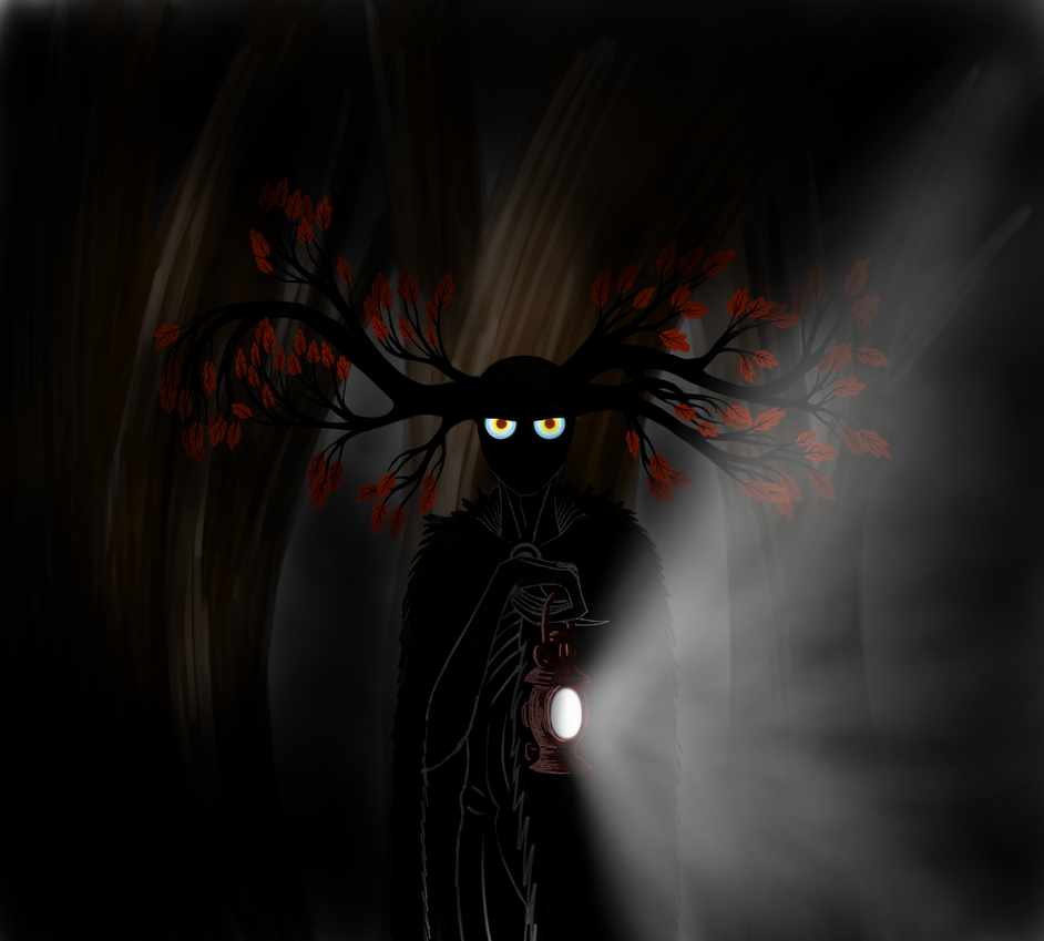 Over The Garden Wall The Beast With A Lantern By Blackperformer On Deviantart