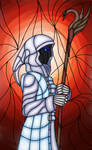 Atropos - like a stained glass by BlackPerformer