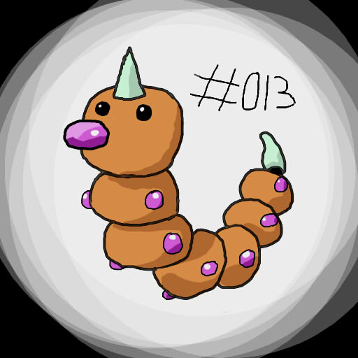 #013 Weedle by Bubblem1st
