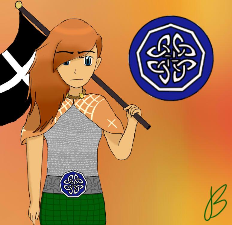 Celtic Queen by Bubblem1st