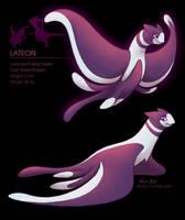 Pokemon Fusion: Lateon by elbdot