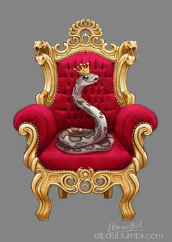 COMMISSION: Fables - King of Snakes
