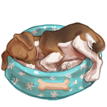 .:Nap Time for Kira Pup:. by Lyca-Houndoom