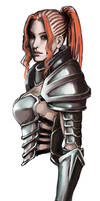 Armored Girl by chaosbringer99