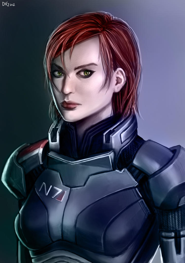 Shepard by chaosbringer99