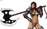 Armored Girl 3
