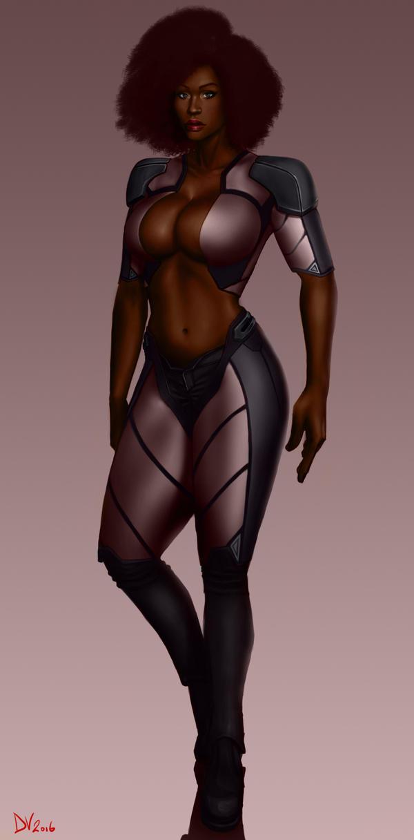 Ebony by chaosbringer99