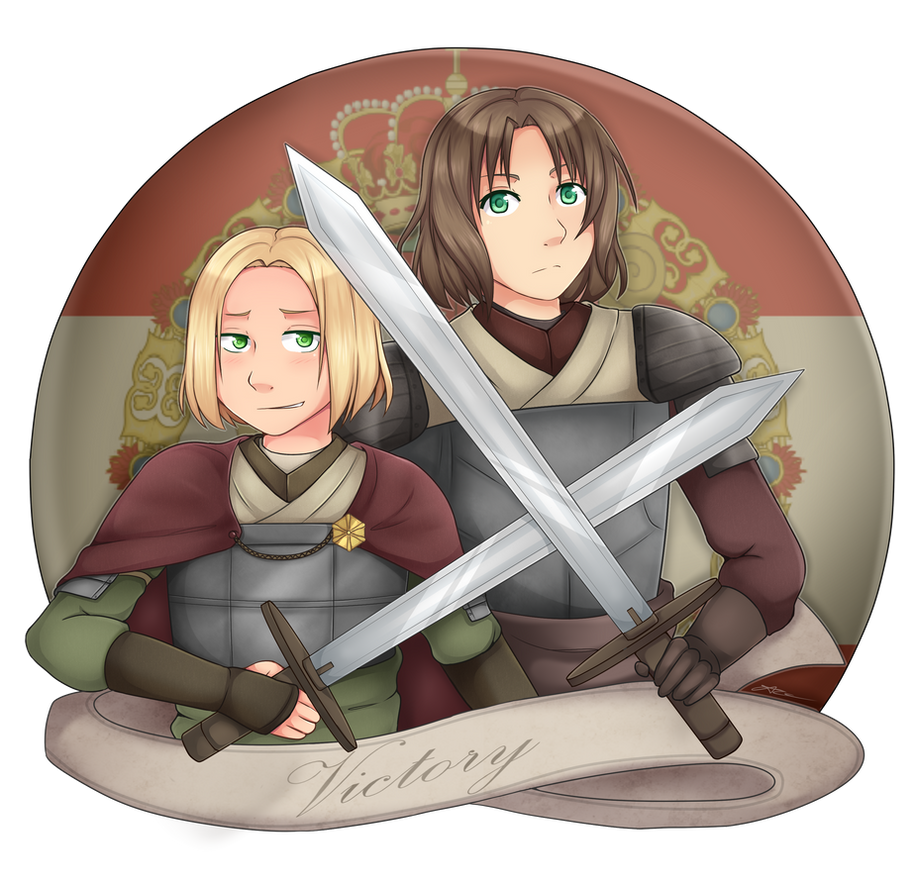 [APH] Poland and Lithuania by Anni-the-cat