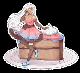 Little Cake Girl by Annington