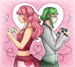 Vocaloid Games Fanart [+SPEEDPAINT]