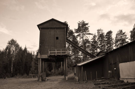 Old lumber mill