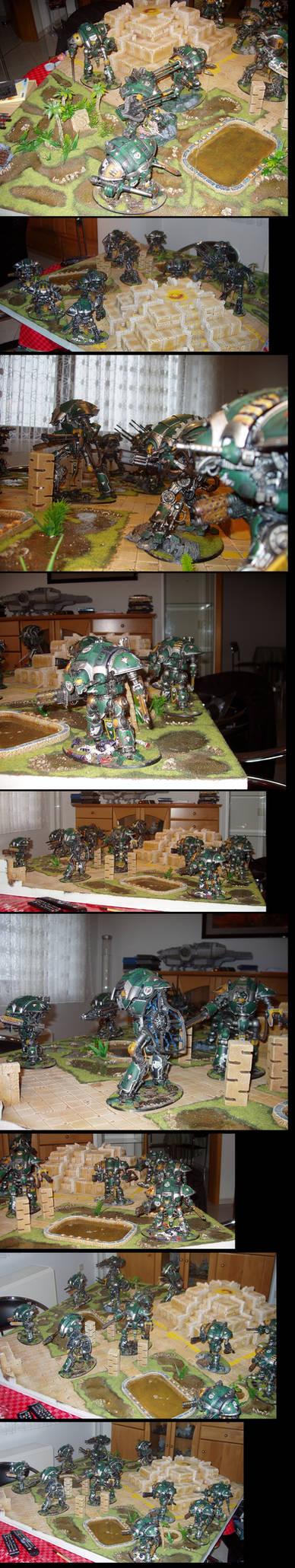 Warhammer 40K Cadmus Knight Household