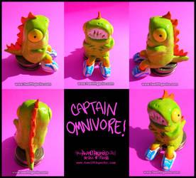 Seated Captain Omnivore by Twelfthgecko