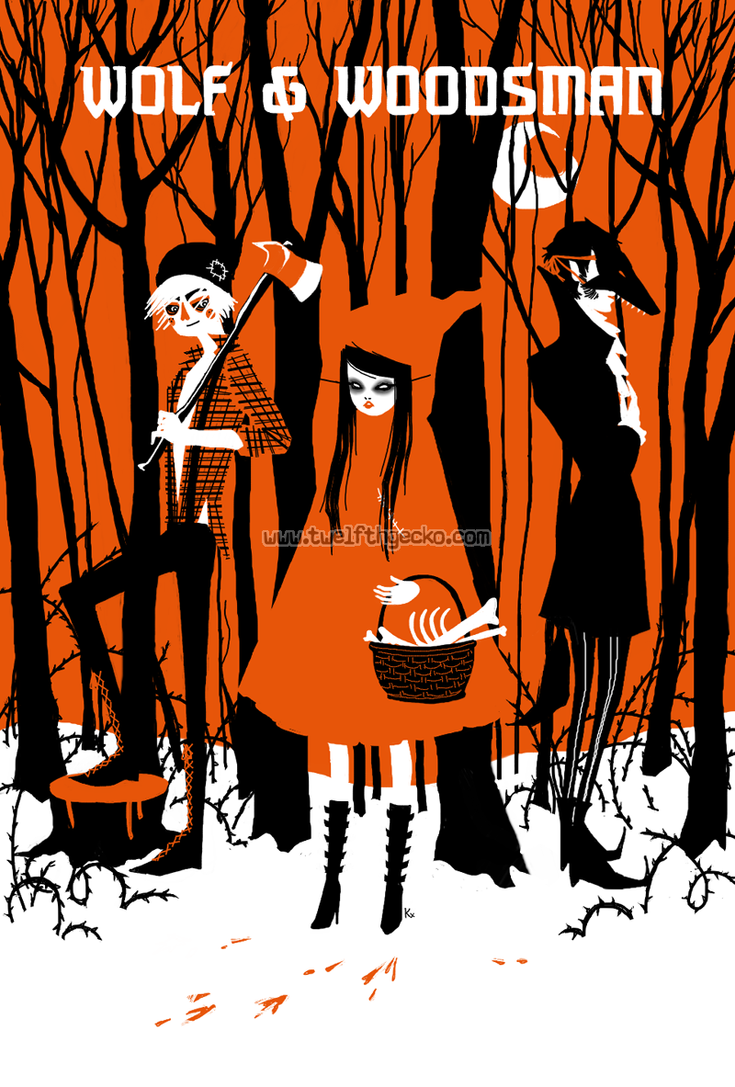 Wolf + Woodsman by Twelfthgecko